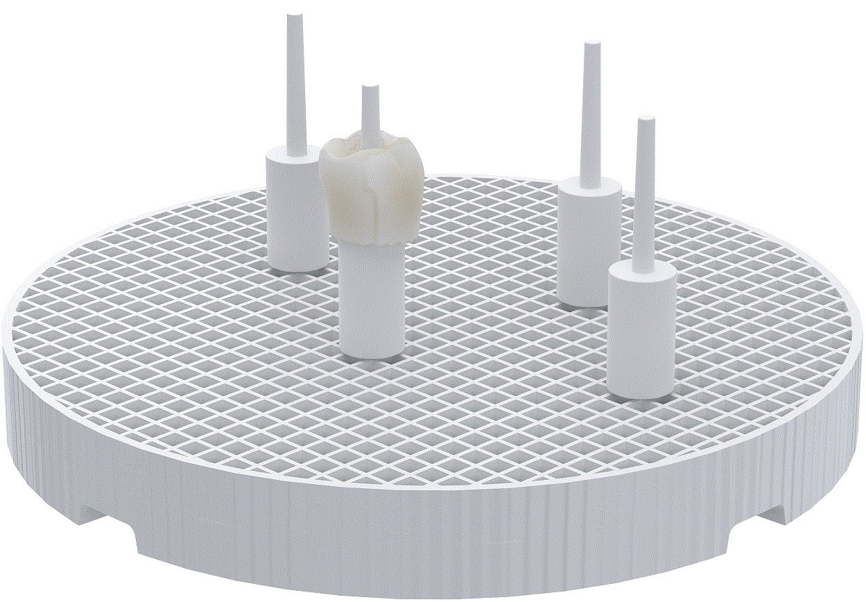 Honey Comb Ceramic CR and BR Stand